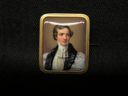 Samuel Allen McCoskry brooch, c.1836