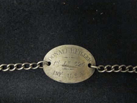 Identification bracelet, c.1917