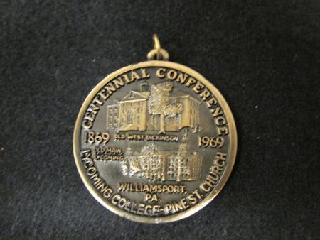 United Methodist Church medal, 1969