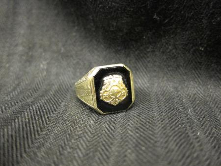 Chi Omega sorority ring, c.1915