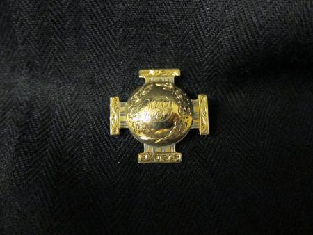 Union Philosophical Society pin, c.1860