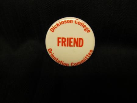 Dickinson College Orientation pin