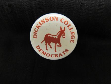 Dickinson College Democrats button