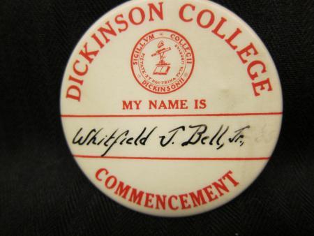 Commencement button