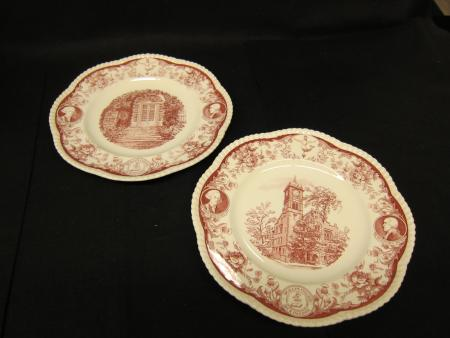 180th Anniversary Commemorative Plates, 1953