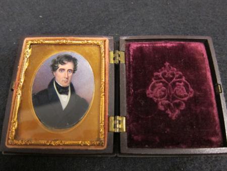 Roger Brooke Taney Miniature Portrait, c.1840