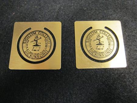Metal Seal Bookmarks