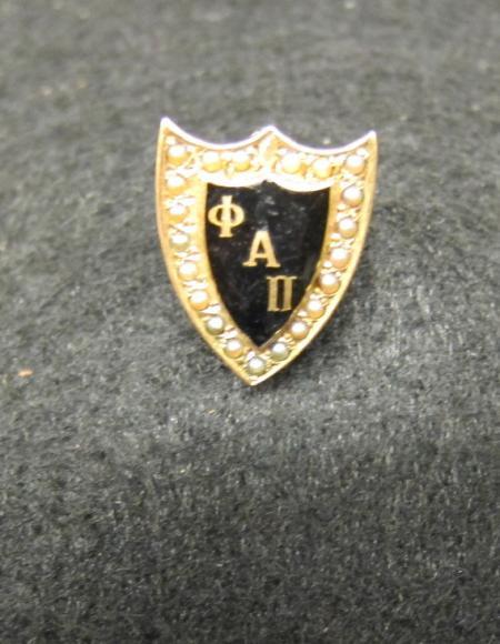 Phi Alpha Pi Sorority Pin