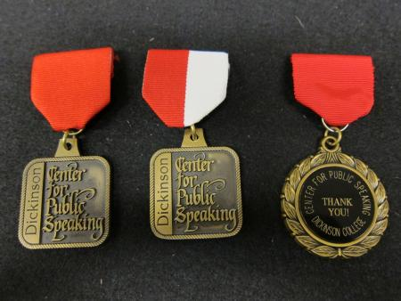 Center for Public Speaking Medals, c.2000
