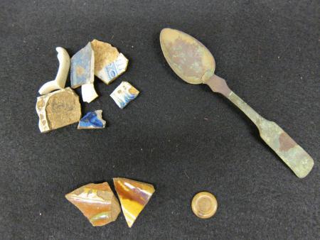 Hurwitz Green Excavation Finds, 2000