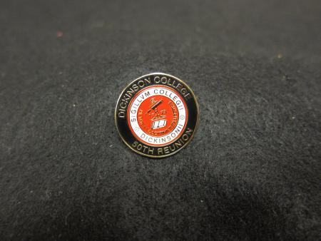 50th Reunion College Seal Pin