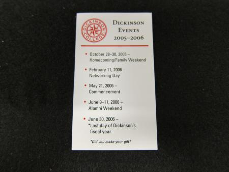 Events magnet, 2005-2006