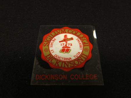 College Seal decal