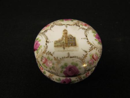 Denny Hall ceramic jar