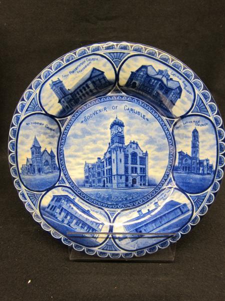Carlisle souvenir plate, c.1910