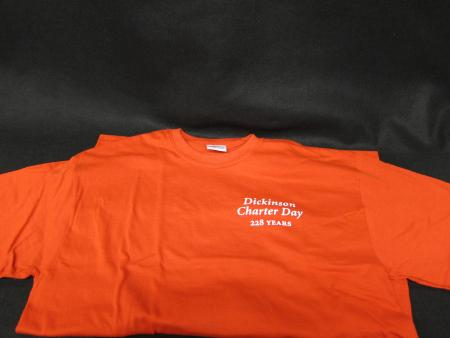 Charter Day t-shirt, front
