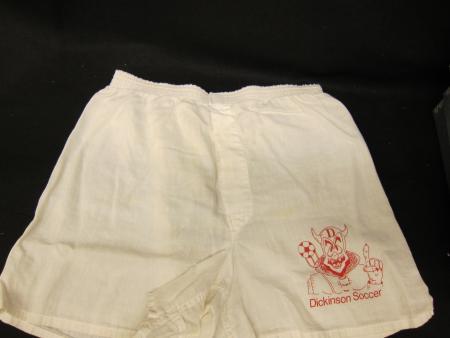 Soccer boxer shorts, c.1990