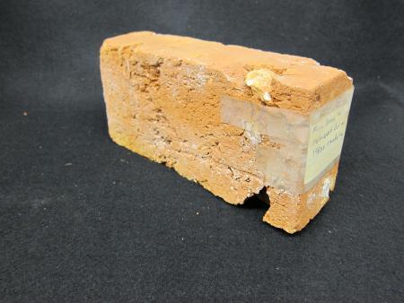 Denny Hall fireplace brick