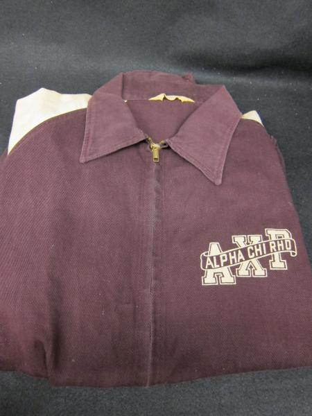Alpha Chi Rho Jacket, front