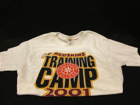 Redskins Training Camp t-shirt, 2001