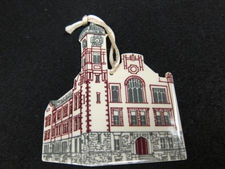 Denny Hall Porcelain Ornament, 1995
