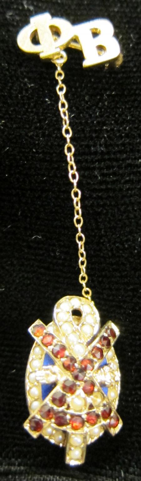 Alpha Chi Rho Tie Pin, c.1953