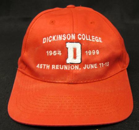 Dickinson College 45th Reunion Hat, 1999