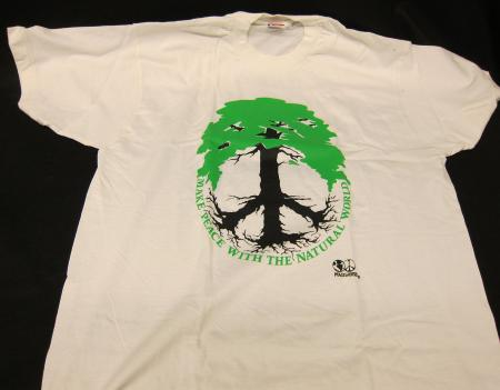 Earthweek t-shirt, front