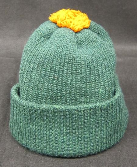 Green Knit Cap, 1924