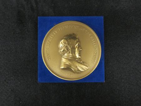 James Buchanan Bronze Commemorative Medal, c.1960