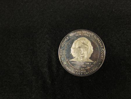 Roger Brooke Taney Commemorative Medal, 1969