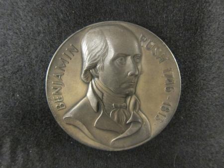 Obverse Silver Benjamin Rush Commemorative Medal, c.1970