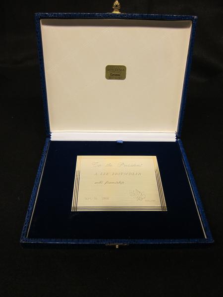 Coro Stelutis plaque, 1988