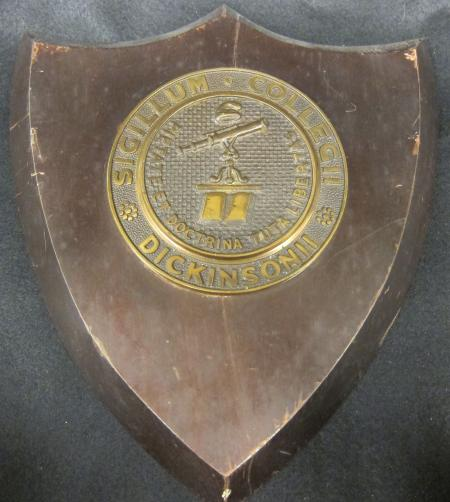 Dickinson College Seal Plaque, c.1925