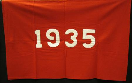 Class of 1935 flag