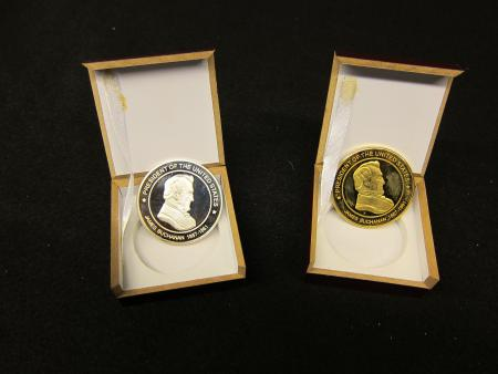 James Buchanan Presidential Coins