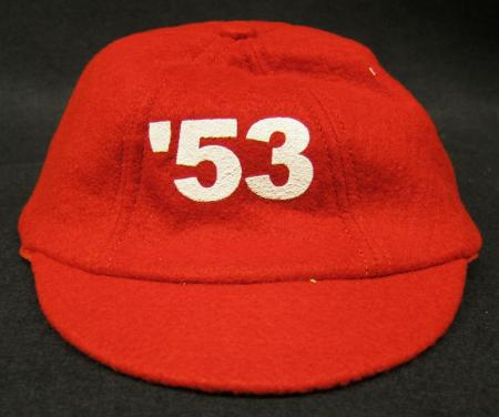 Red Felt Beanie with '53 on the front