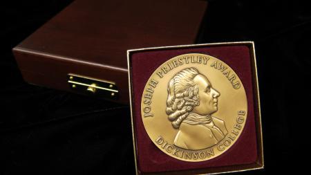 Joseph Priestley Award Medallion, 2013