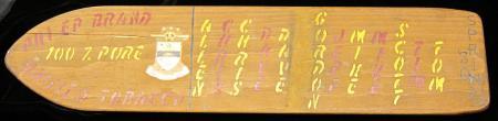 Phi Epsilon Pi Pledge Class Paddle, 1980