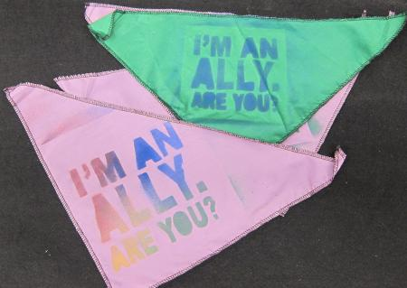 Bandana's for Ally Campaign, 2012