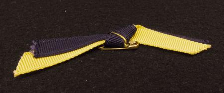 Wheel & Chain Ribbon Pin, 1976