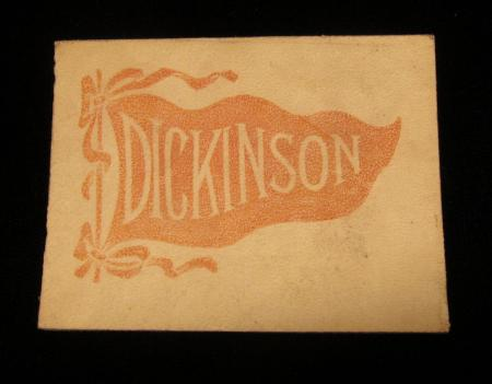 Pennant-Stamped Rectangle, 1910