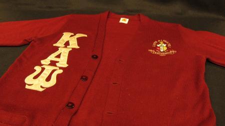 Kappa Alpha Psi Fraternity Cardigan, c.2018