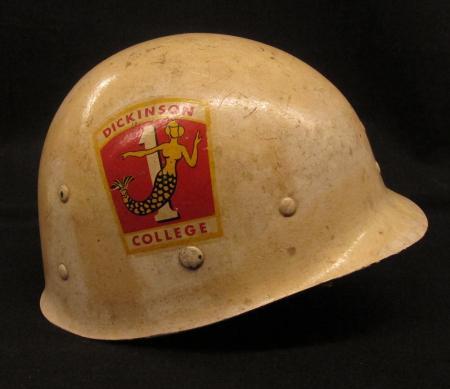 Dickinson ROTC Helmet, c.1955
