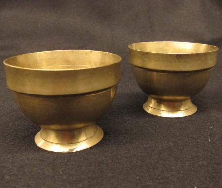 Brass Cups, c.1960