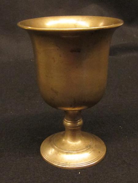 Brass Goblet, c.1960
