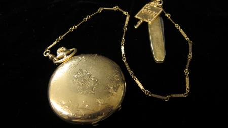 Pocket Watch and Pocket Knife, 1917