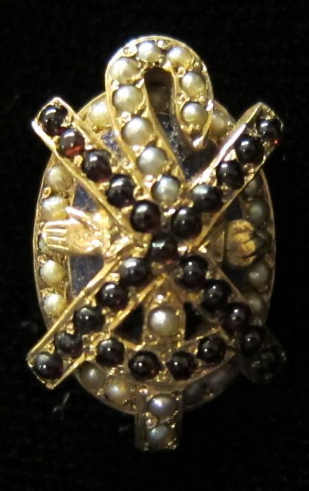 Alpha Chi Rho Tie Pin, c.1925