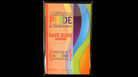 LGBTQ Safe Zone Member Button, c.2013
