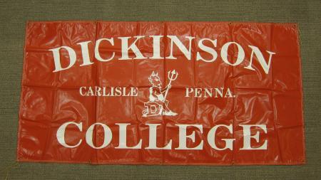Vinyl Athletics Banner, c.1970
